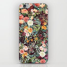 Fall Floral iPhone Skin