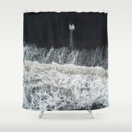 Mother Earth and her Child Shower Curtain