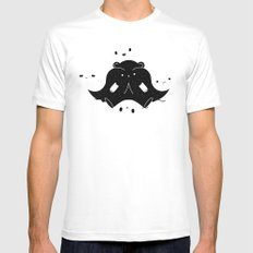 IMMIGRANT BEARS Mens Fitted Tee White MEDIUM
