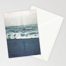 retro ocean Stationery Cards