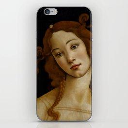 "Sandro Botticelli ""Venus"" (Sabauda Gallery, Turin) iPhone Skin"