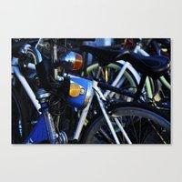 bicycles Canvas Prints featuring Bicycles by Alex Holden