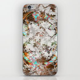 circled partitions iPhone Skin