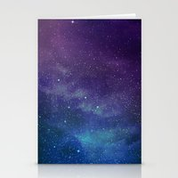 universe Stationery Cards featuring Universe by Space99