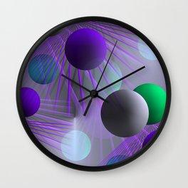 funny balls -02- Wall Clock