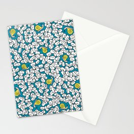 Snail Mail Turquoise Stationery Cards