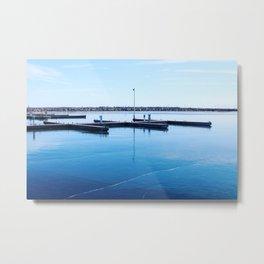 Docks Metal Print