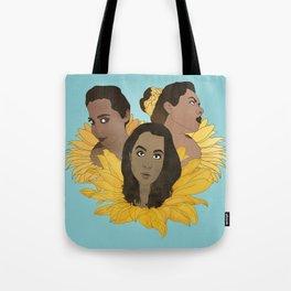 Sunflower Girls Tote Bag
