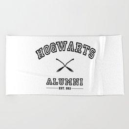 Hogwarts Alumni Beach Towel