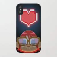 video games iPhone & iPod Cases featuring I LOVE VIDEO GAMES pt.02 by Shihab Aldeen