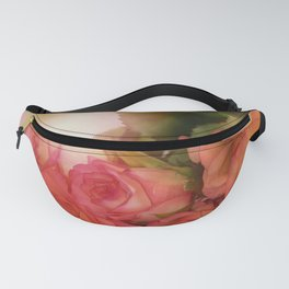 Bouquet Of Roses Fanny Pack