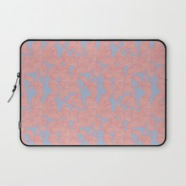 Trailing Curls // Pink & Blue Pastels Laptop Sleeve