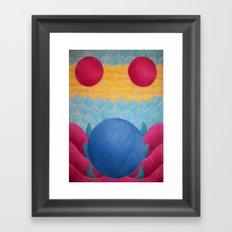 A Silent Apparition Framed Art Print
