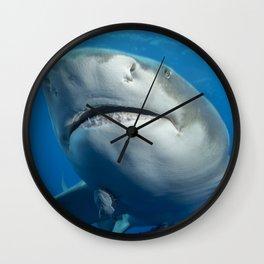 Lemon Shark Upclsoe Wall Clock