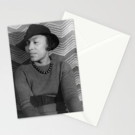 Zora Neale Hurston - BLM - African American Anthropologist Filmmaker Author Society6  334 Stationery Cards