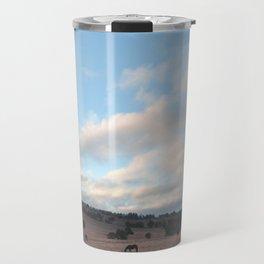 Landscape & Horses III Travel Mug