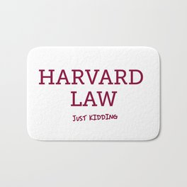 Harvard Law Bath Mat