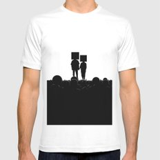 I have you. You have me. - US AND THEM Mens Fitted Tee White MEDIUM