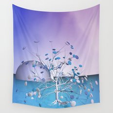 window curtain - candytree Wall Tapestry