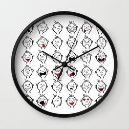 DIDI's expressions Wall Clock