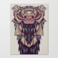 indonesia Canvas Prints featuring Barong Indonesia by Ahmad Mujib