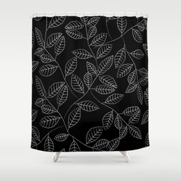 Little Leaves Shower Curtain
