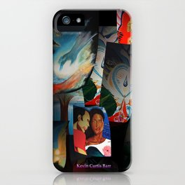 KEVIN CURTIS BARR 'S ART POSTERS iPhone Case