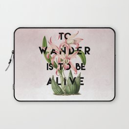 To Wander Laptop Sleeve