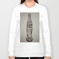 coca cola Long Sleeve T-shirts featuring Coca-Cola by Lily Patterson