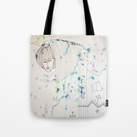 fairy tale Tote Bags featuring Fairy Tale by KSKS