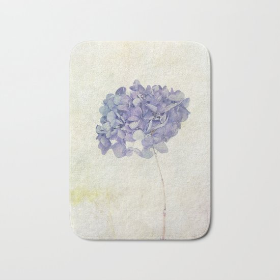 Blue Hydrangea Bath Mat