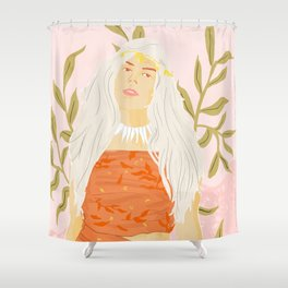 Dress Like The Locals Shower Curtain