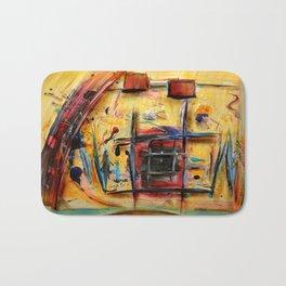 Acryl-Abstrakt 32 Bath Mat