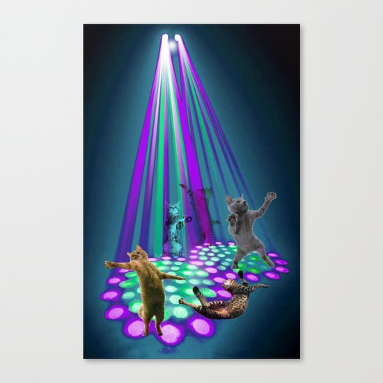 cats party Canvas Print