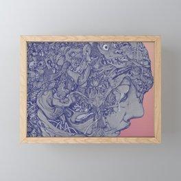 colors are come back Framed Mini Art Print