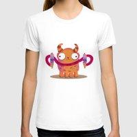 icecream T-shirts featuring Icecream monster by Maria Jose Da Luz