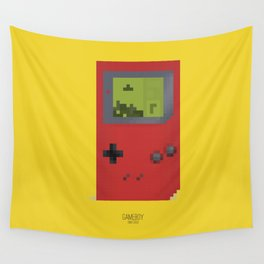 Pixelated Technology - Gameboy Wall Tapestry