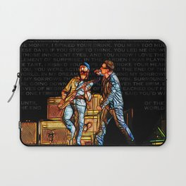 U2 / Bono / Edge / Until The End Of The World Laptop Sleeve