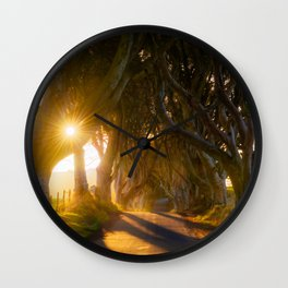 The Dark Hedges (RR192) Wall Clock