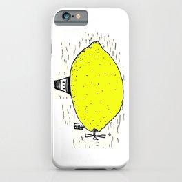 Lemon zeppelin iPhone Case