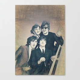 Beatle - John, Paul, George, and Ringo Canvas Print