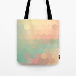 PEACH AND MINT HONEY Tote Bag