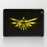 triforce iPad Cases featuring Zelda - Triforce by albert Junior