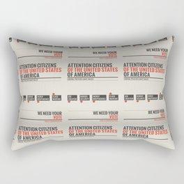 Liberal Policies Have Failed Rectangular Pillow
