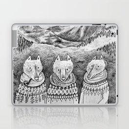 Icelandic foxes Laptop & iPad Skin