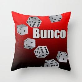 Bunco Throw Pillow