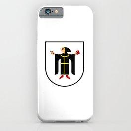 Coat of arms of Munich München iPhone Case