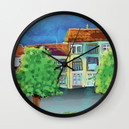 Belgrade Street Wall Clock