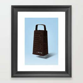 Grater and Coffee Framed Art Print