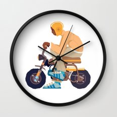 #2 HONDA Z50 Wall Clock